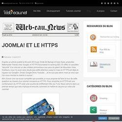 Joomla! et le HTTPS