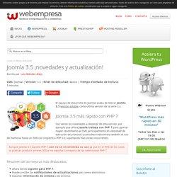 Joomla 3.5 ¡novedades y actualización!