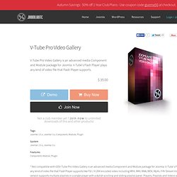 V-Tube Pro Video Gallery