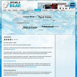 Joomulus-Joomla Bear