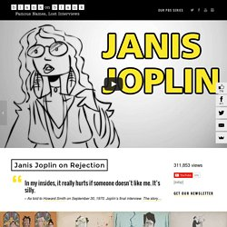 Janis Joplin Quotes: Animated Gifs from Janis Joplin Interviews - Blank on Blank