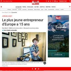 Jordan Casey - Le plus jeune entrepreneur d'Europe a 15 ans