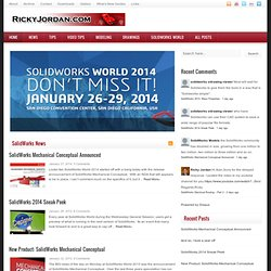 Ricky Jordan's Blog - SolidWorks, The CAD Industry, & More!
