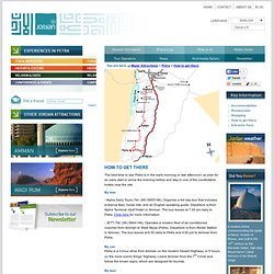 Jordan Tourism Board - How to get there