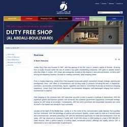 Jordanian Duty Free Shops