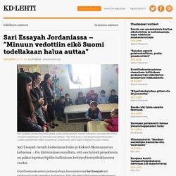 """Sari Essayah Jordaniassa - """"Minuun vedottiin eikö Suomi todellakaan halua auttaa"""" - KD-Lehti"""