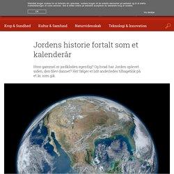 Jordens historie fortalt som et kalenderår