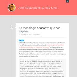 El sitio en la red de Jordi Adell