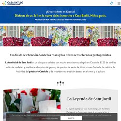Día de Sant Jordi: Leyendas, Rosas y Libros