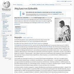 Jörg Lanz von Liebenfels
