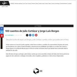 Jorge Luis Borges y Julio Cortázar cuentos
