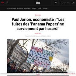 """Paul Jorion, économiste : """"Les fuites des 'Panama Papers' ne surviennent par hasard"""" - Idées"""