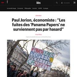 """Paul Jorion, économiste : """"Les fuites des 'Panama Papers' ne surviennent pas par hasard"""" - Idées"""