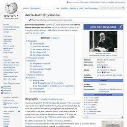 Joris-Karl Huysmans
