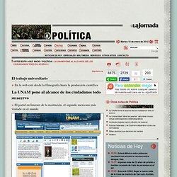 La UNAM pone al alcance de los ciudadanos todo su acervo