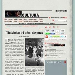 Tlatelolco 44 años después