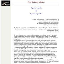 Jornal de Poesia - José Peixoto Júnior