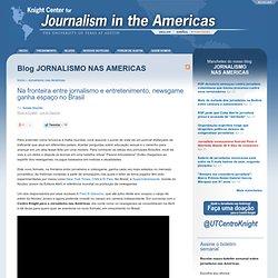Na fronteira entre jornalismo e entretenimento, newsgame ganha espaço no Brasil