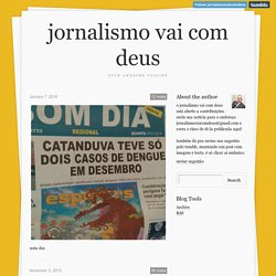jornalismo vai com deus