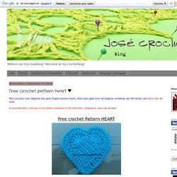 Free crochet pattern heart ♥