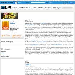 jose liron's Page on 1UP