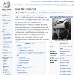 Josep Pla i Casadevall