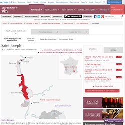 Saint-Joseph - Guide des appellations