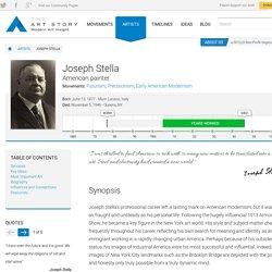 Joseph Stella Biography, Art, and Analysis of Works