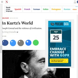 Joseph Conrad and the Dawn of Globalization