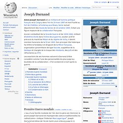 Joseph Darnand