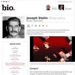 Joseph Stalin - Biography - Dictator - Biography.com