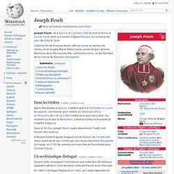 1763-1839 Joseph FESCH frère de LETIZIA