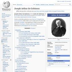 Joseph Arthur de Gobineau