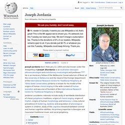 Joseph Jordania