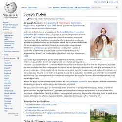 Joseph Paxton - Wikipédia - Waterfox