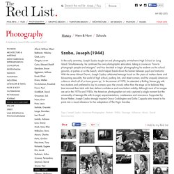 Szabo, Joseph: Photography, History