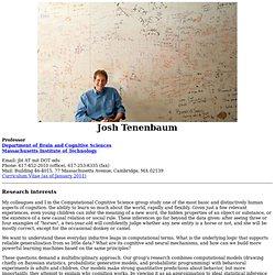 Josh Tenenbaum's home page