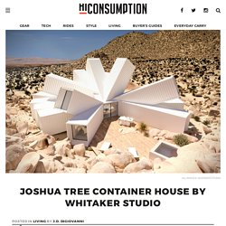 Joshua Tree Container House By Whitaker Studio