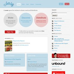 Jottify | A new space for writers to share, read and sell