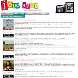 JOUE AVEC Léonard de Vinci sur iPad