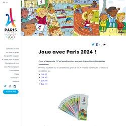 Joue avec Paris 2024 !
