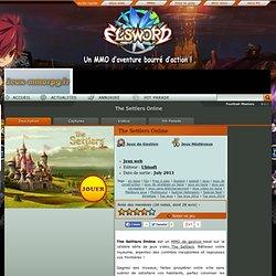 The Settlers Online en ligne gratuit et français. Tout sur The Settlers Online, un jeu Jeux web