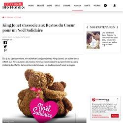 King Jouet s'associe aux Restos du Coeur pour un Noël Solidaire