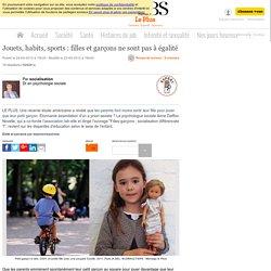 Jouets, habits, sports : filles et garçons ne sont pas à égalité