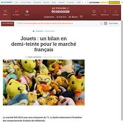 Jouets : un bilan en demi-teinte pour le marché français