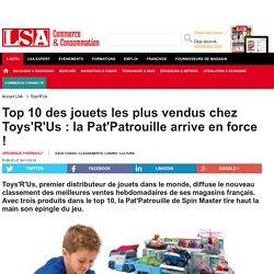 Top 10 des jouets les plus vendus chez... - Loisirs, culture