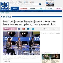 Loto: Les joueurs français jouent moins que leurs voisins européens, mais gagnent plus