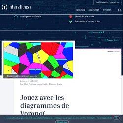 Jouez avec les diagrammes de Voronoï