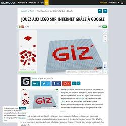 Jouez aux Lego sur Internet grâce à Google