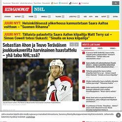 Sebastian Ahon ja Teuvo Teräväisen joukkuekaverilta harvinainen haastattelu – yhä tabu NHL:ssä? - NHL
